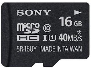 Sony microSDHC 16 GB Class 10 Memory Card