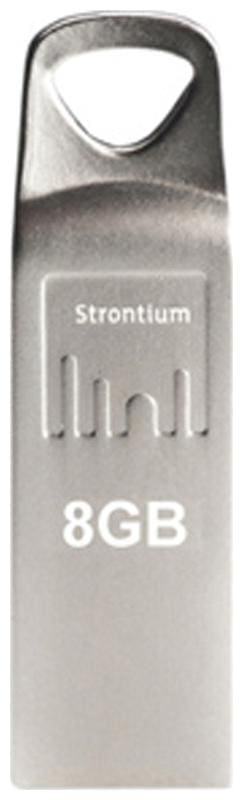 Strontium 8 GB AMMO Pen Drive Pack of 2 (Silver)