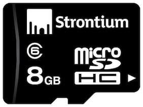 Strontium 8 GB MicroSDHC Class 6 Memory Card (SR8GTFC6R)