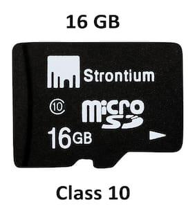 Strontium Memory Card 16 GB Micro SD Class 10