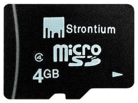 Strontium MicroSD 4 GB Class 4 Memory Card