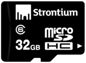 Strontium MicroSDHC 32 GB Class 6 Memory Card