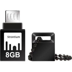Strontium NITRO ON-THE-GO USB 3.0 8 GB USB OTG Pen Drive (Black)