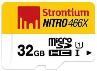 Strontium Nitro microSDHC UHS-I 32 GB Class 10 Memory Card