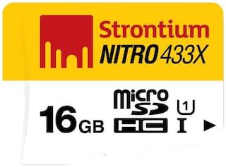Strontium Nitro 433x microSDHC UHS-I 16 GB Class 10/U1 Memory Card