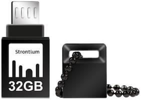 Strontium 32 GB USB 3.0 Pendrive ( Black )