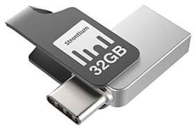Strontium 32 GB USB 3.0 Pendrive ( Silver )