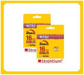 Strontium Nitro 433X 65MB/S 16 GB UHS-I Class 10 (Pack Of 2)