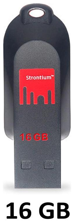 Strontium 16  GB USB 2.0 Pendrive   Multi