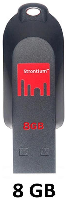Strontium 8 GB USB 2.0 Pendrive ( Multi )
