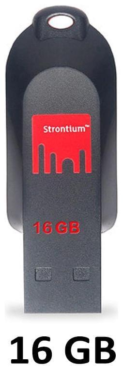 Strontium 16 GB USB 2.0 Pendrive ( Multi )