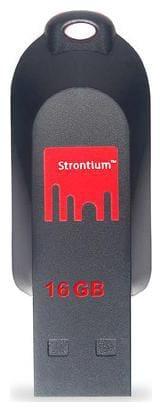 Strontium Pollex 16 GB Pen Drive (Black & Red)
