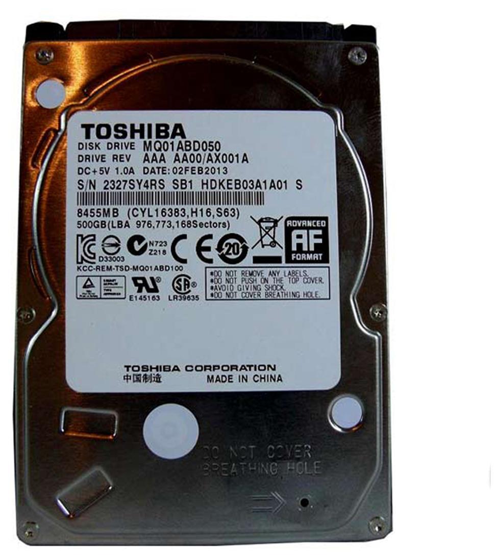 Toshiba 500 GB Internal Drive For Laptop (MQ01ABD050)