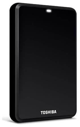 "Toshiba Canvio 2.5"" 1 TB Portable External Hard Disk (Black)"