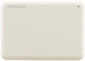 Toshiba HDTCA20AW3AA 2 TB USB 3.0 External HDD - White