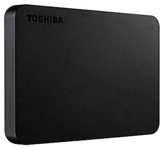 Toshiba Canvio Basics 1 TB USB 3.0 External HDD - Black