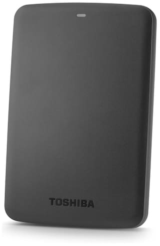 "Toshiba Canvio Basics 2.5"" 1 TB Portable External Hard Drive (Black)"