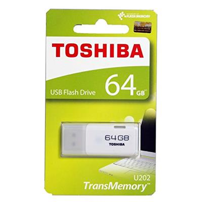 Toshiba THN-U202W0640A4 Hayabusa USB Flash Memory 64 GB (White)