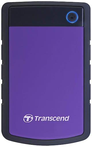 Transcend 4 TB USB 3.1 External HDD - Purple