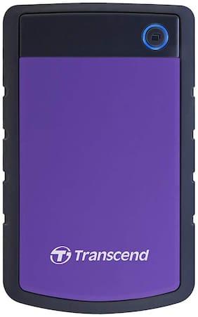 Transcend 4 TB Hard Disk Drive External Hard Disk USB 3.1 - Purple , STOREJET 25H3