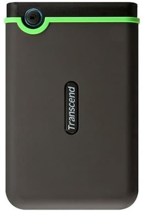 Transcend StoreJet 25M3 (TS2TSJ25M3S) 2 TB Portable External Hard Drive (Black)