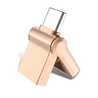 USB 3.0 32GB Waterproof Style Type C Mini Dual High Speed Flash Drives USA Stock