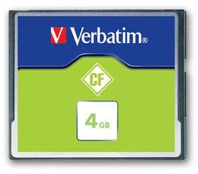 Verbatim CompactFlash 4 GB Memory Card
