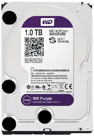 WD Wd10purx 1 tb 3.5 Internal HDD