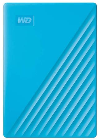WD 2 TB USB 3.0 External HDD - Blue