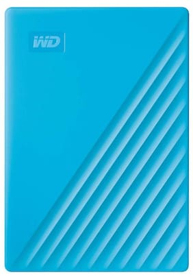 WD My Passport New Edition 2 TB USB 3.0 External HDD - Blue