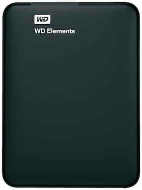 WD Elements 2 TB USB 3.0 External HDD - Black