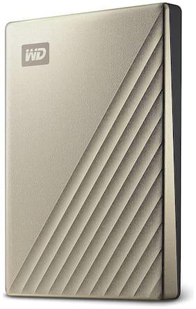 WD WDBC3C0020BGD-WESN 2 TB USB 3.1 External HDD - Gold