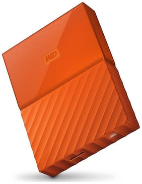 WD 4 TB Hard Disk Drive External Hard Disk USB 3.0 - Orange