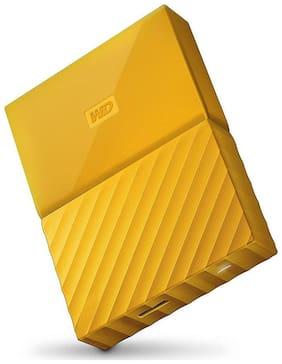 WD 4 TB Hard Disk Drive External Hard Disk USB 3.0 - Yellow