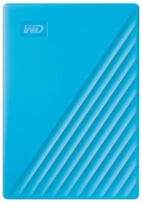 WD My Passport New Edition 4 TB USB 3.0 External HDD - Blue
