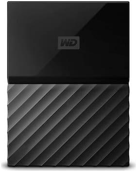 WD 4 TB USB 3.0 2.5 inch External Hard Disk Drive (WDBYFT0040BBK-WESN, Black)