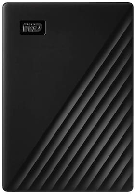WD My Passport New Edition 5 TB USB 3.0 External HDD - Black