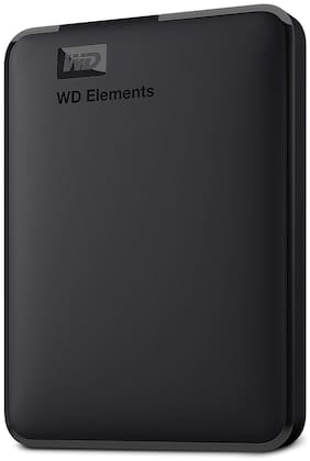 WD Elements 1 TB USB 3.0 External HDD - Black