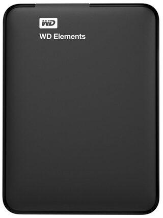 WD Elements 1 Tb External Hard Disk ( Black )
