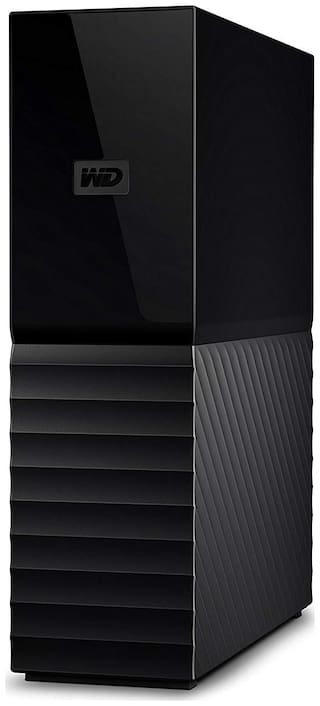 WD MY BOOK 8 TB USB 3.0 External HDD - Black