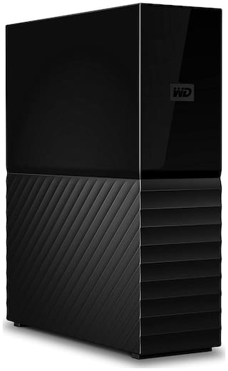 WD 4 TB Hard Disk Drive External Hard Disk USB 3.0 - Black