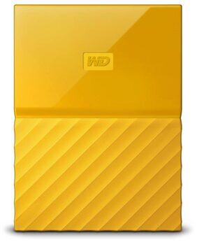 WD My Passport 1 Tb External Hard Disk ( Yellow )