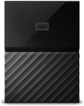 WD My Passport 1 TB Hard Disk Drive External Hard Disk USB 3.0 - Black