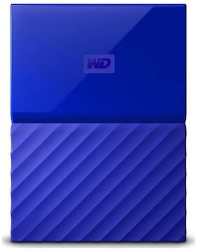 WD My Passport 2 TB Hard Disk Drive External Hard Disk USB 3.0 - Blue
