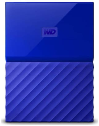 WD My Passport 2 TB USB 3.0 External HDD - Blue