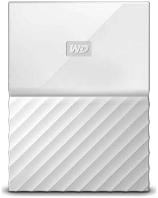 WD My Passport 2 TB Hard Disk Drive External Hard Disk USB 3.0 - White , WDBS4B0020BWT-WESN
