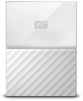 WD My Passport WDBS4B0020BWT-WESN  2 TB Portable External Hard Drive (White)