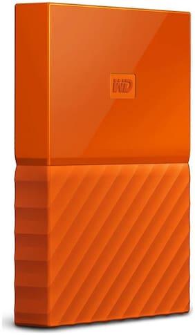 WD My Passport 2 Tb External Hard Disk ( Orange )