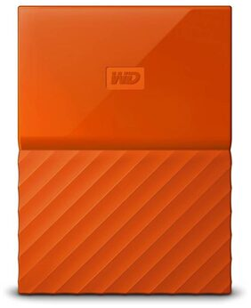 WD My Passport 1 Tb External Hard Disk ( Orange )