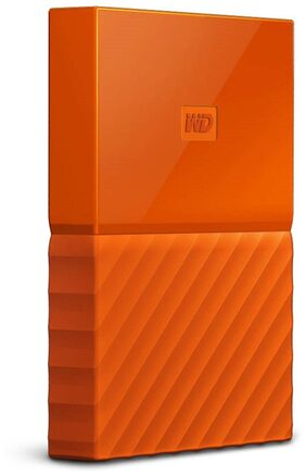 WD My Passport 2 Tb External Hard Disk ( Orange )